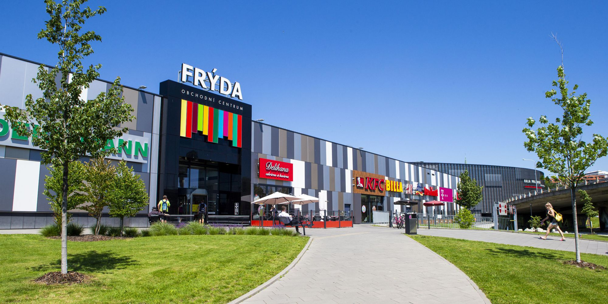 Obchodní centrum Frýda